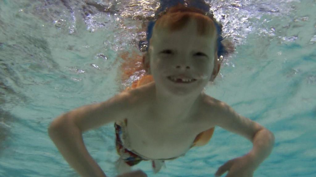 NpvZwem - Lucas onderwater